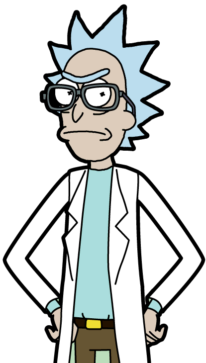 Rick and morty rick png. Image four eyes wiki