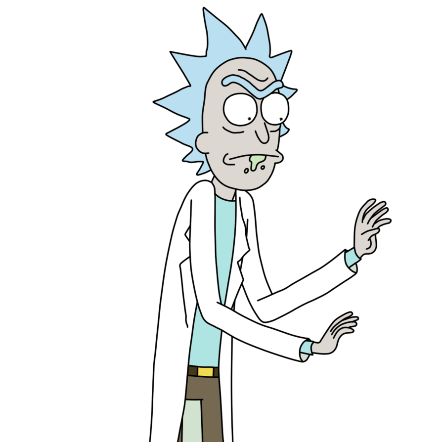 Rick and morty rick png. Sanchez smith television show