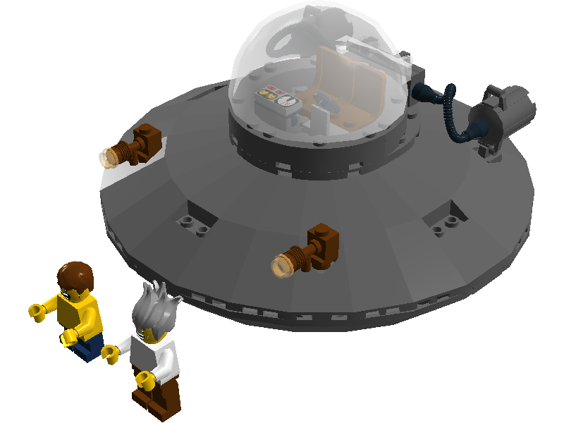 Rick and morty ship png. Lego ideas product
