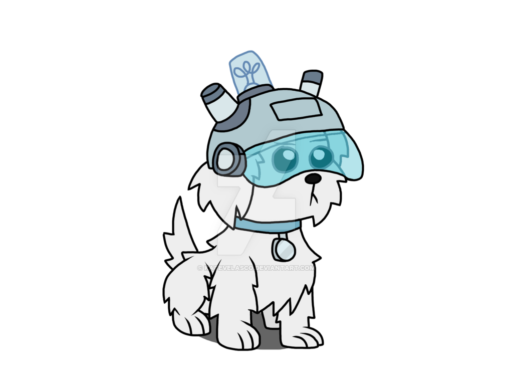 Rick and morty snuffles png. Colored version by katevelasco