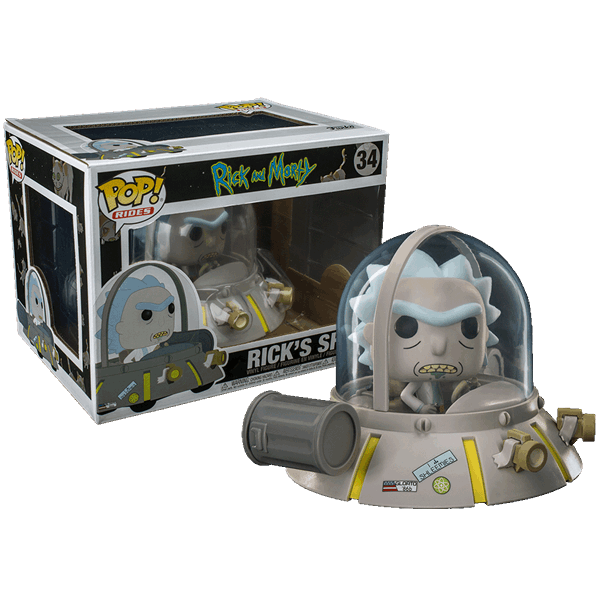 Rick and morty spaceship png. S ship pop ride