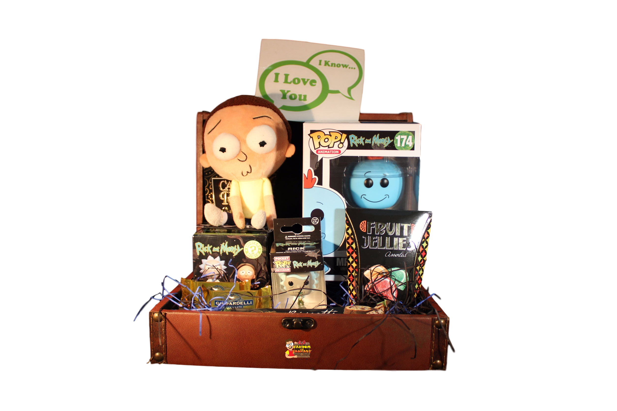 Rick and morty spaceship png. C gift basket