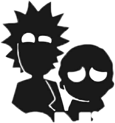 Rick and morty wallpaper png. Freetoedit rickandmorty shadow