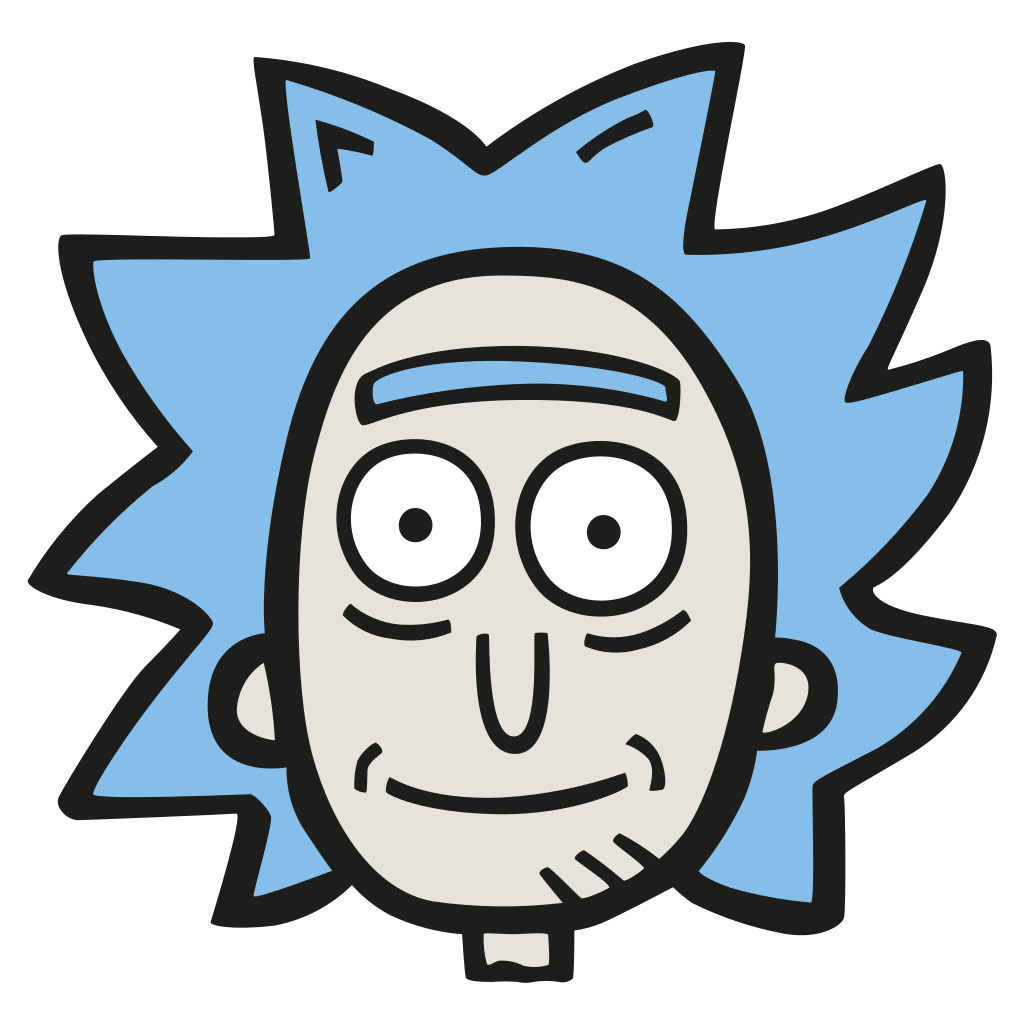 Rick head png. Icon free space iconset
