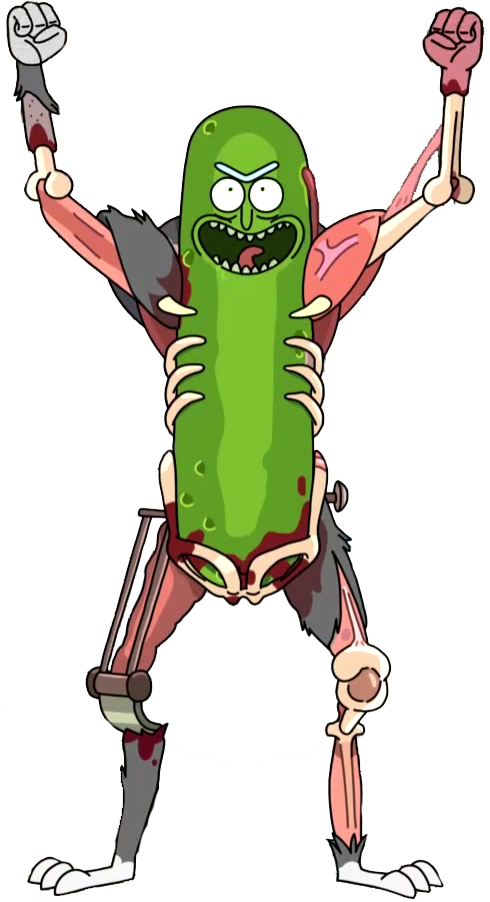 Rick png rick and morty. Image pickle render by