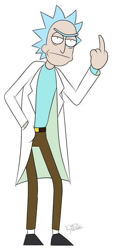 Rick sanchez rick and morty png. Image sa burp anchez