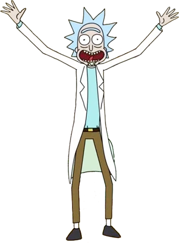 Rick sanchez rick and morty png. Vs bio by doctormoodb