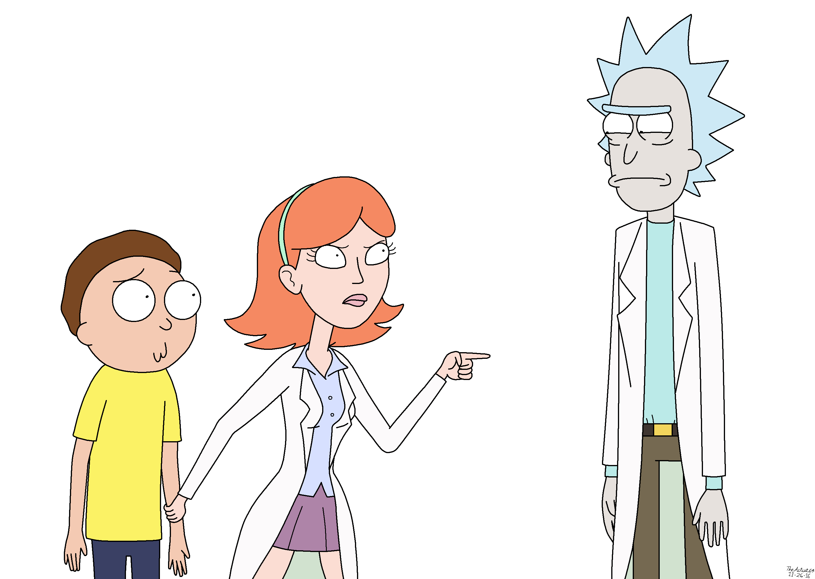 Rick y morty vector png. Image s e beth