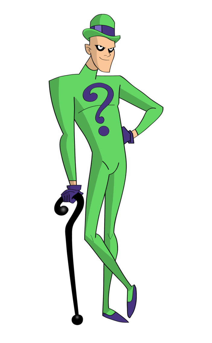 Riddler drawing cartoon. The by dawidarte on