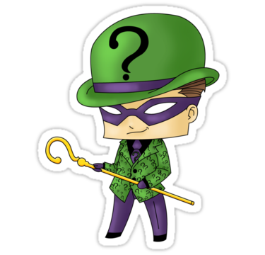 Riddler drawing chibi. Dc villains phreek pinterest