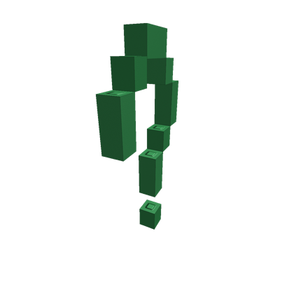 Riddler question mark png. Roblox