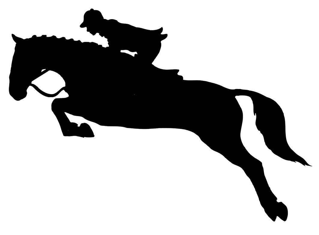 Riding clipart horsesho. Jumping horse silhouette cliparthut