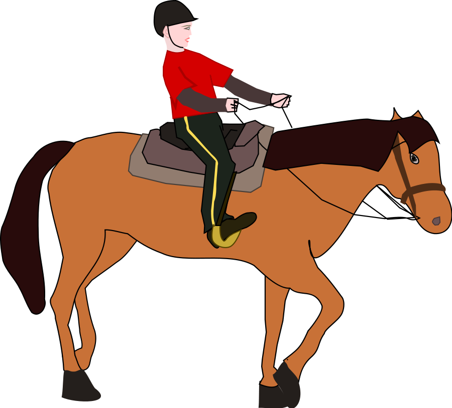 Riding clipart horsesho. Western horse at getdrawings