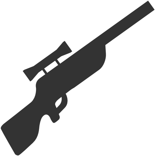 Rifle cartoon png. Military sniper icon free