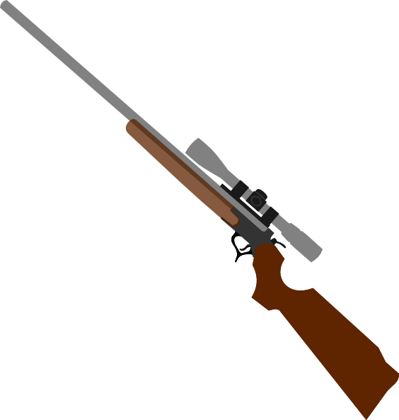 Rifle clipart. Sniper