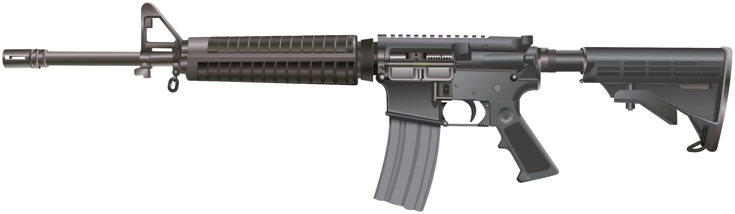 rifle svg transparent