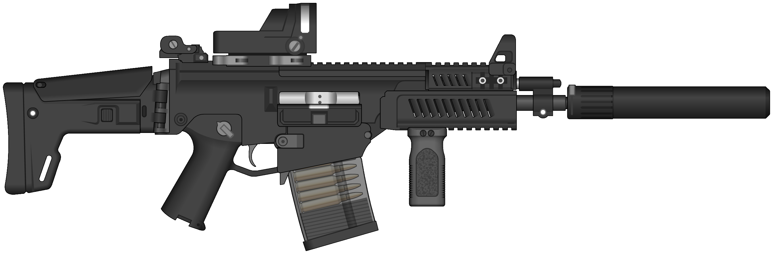 intervention rifle png