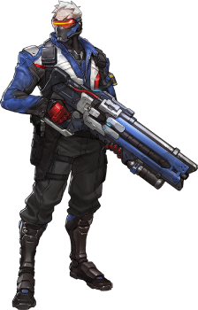Soldier overwatch wiki . Transparent reaper portrait clip royalty free download