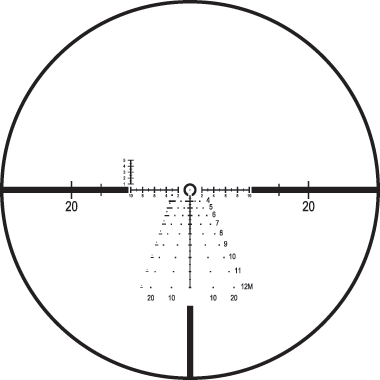 Rifle scope crosshairs png. Hold or dial for