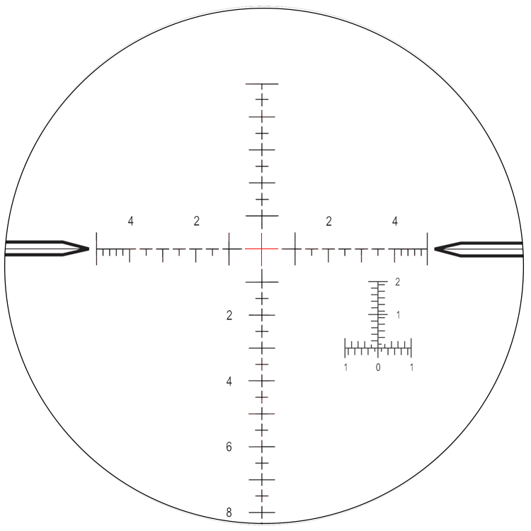 Rifle scope crosshairs png. Reticle choices accuracytech nightforce