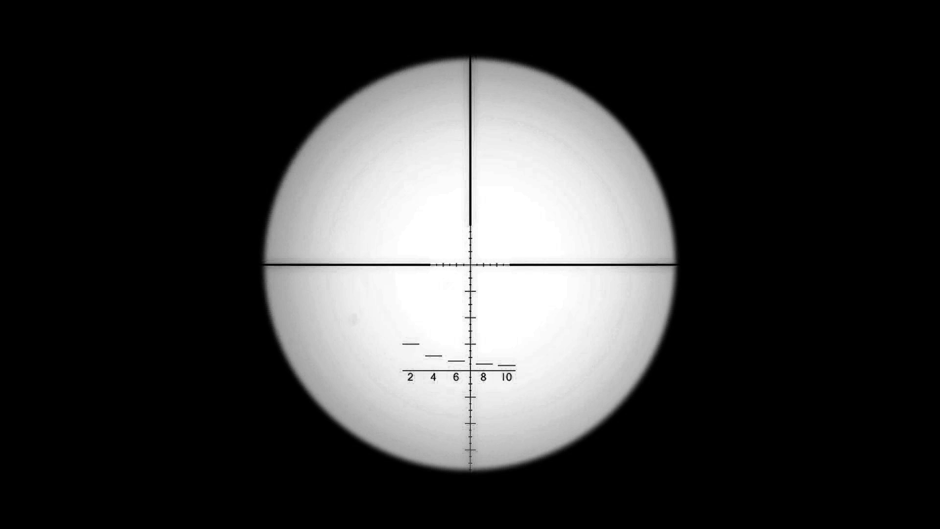 Rifle scope crosshairs png no background. Regular sniper reticle mw