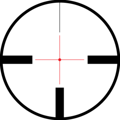 Rifle scope crosshairs png. Weaver european x mm