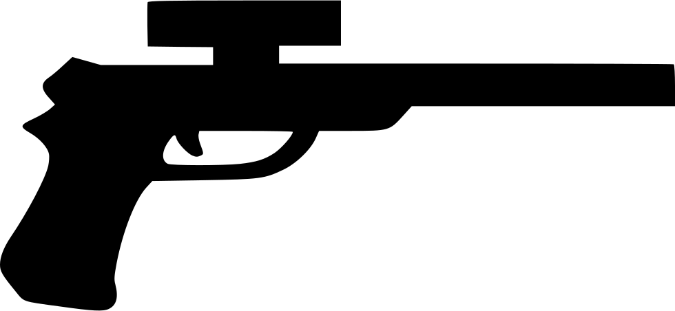 Svg 76 rifle. Game pistol png icon