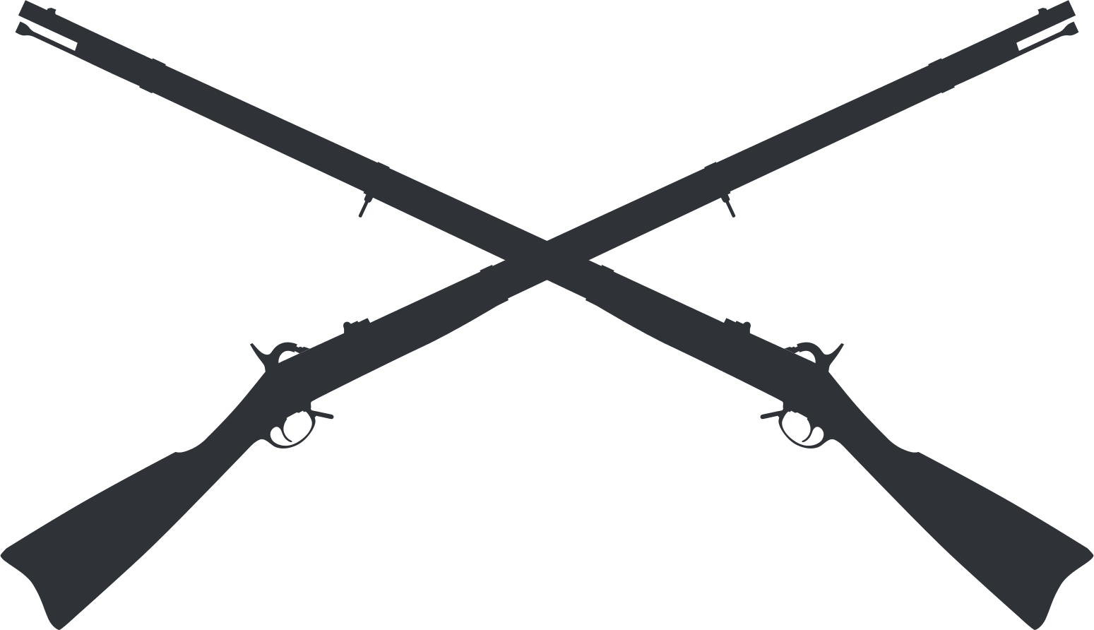 Rifle svg civil war. File springfield crossed muskets