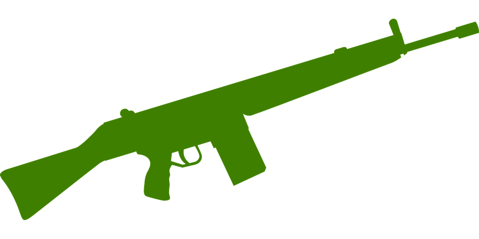 Rifle svg crossed. Pistol png transparent