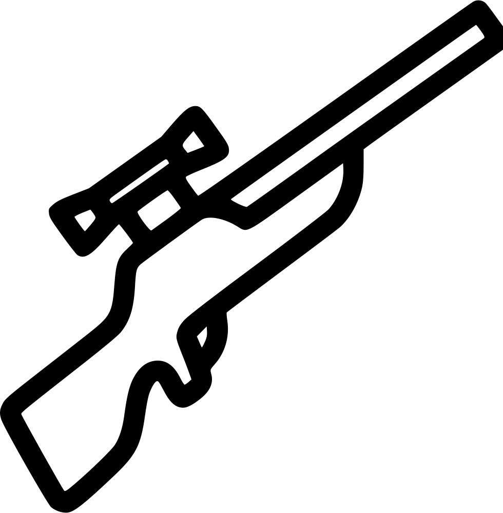 Svg 76 rifle. Sniper png icon free