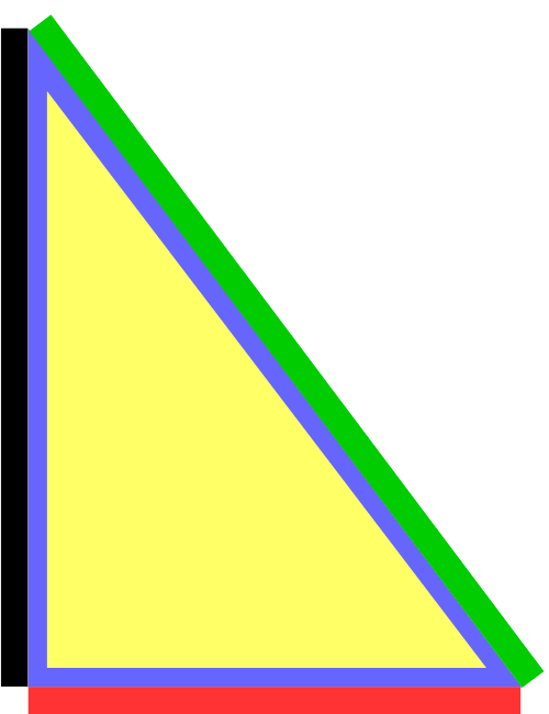 Right triangle png. Geometry apusation