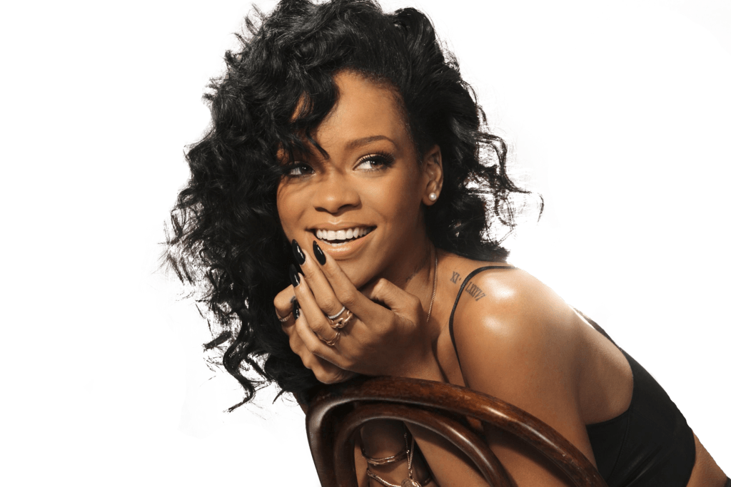 Rihanna face png. Chair transparent stickpng
