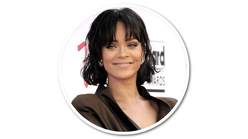 Rihanna face png. Bio about facts family