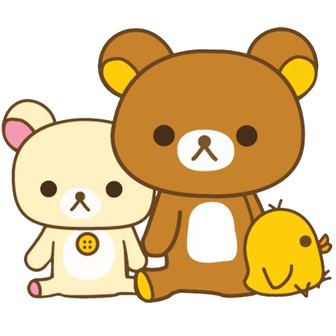 transparent rilakkuma animated