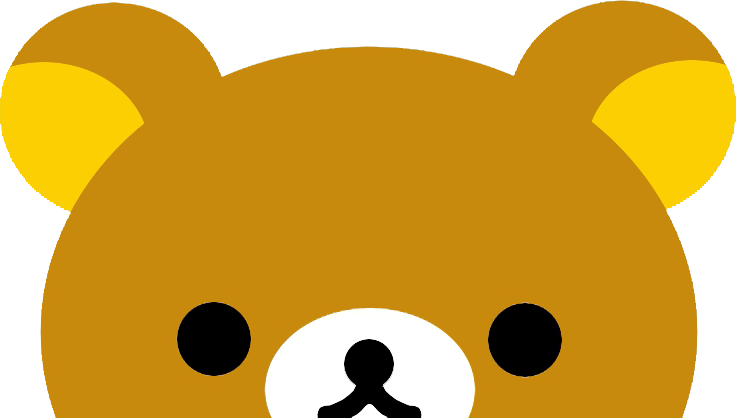 transparent rilakkuma lazy