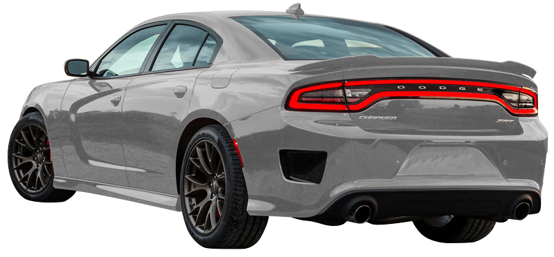 Rim drawing charger dodge. Rear bumper vent accents