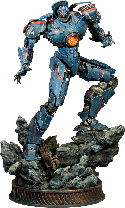 Avenger drawing gipsy. Danger pacific rim statue