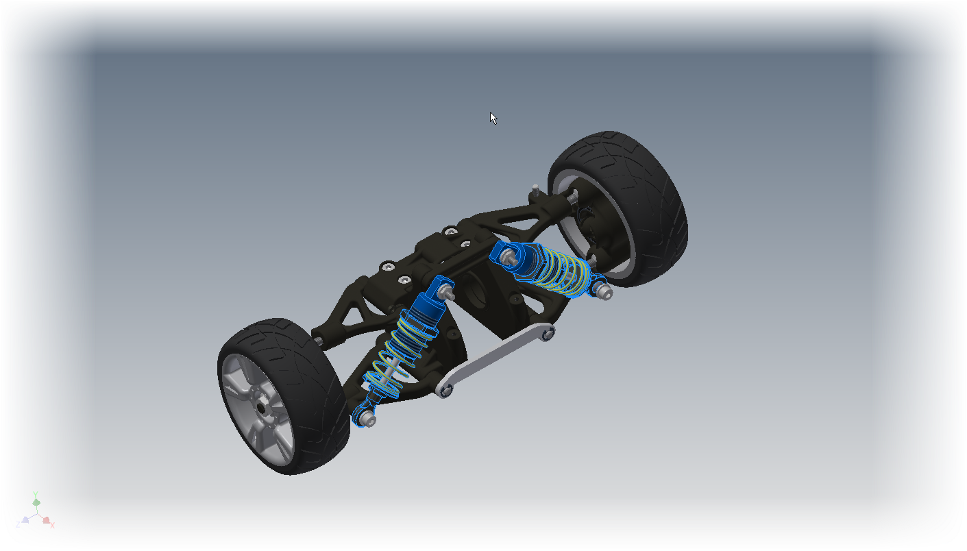 Rim drawing inventor autodesk car. A quick trick selecting