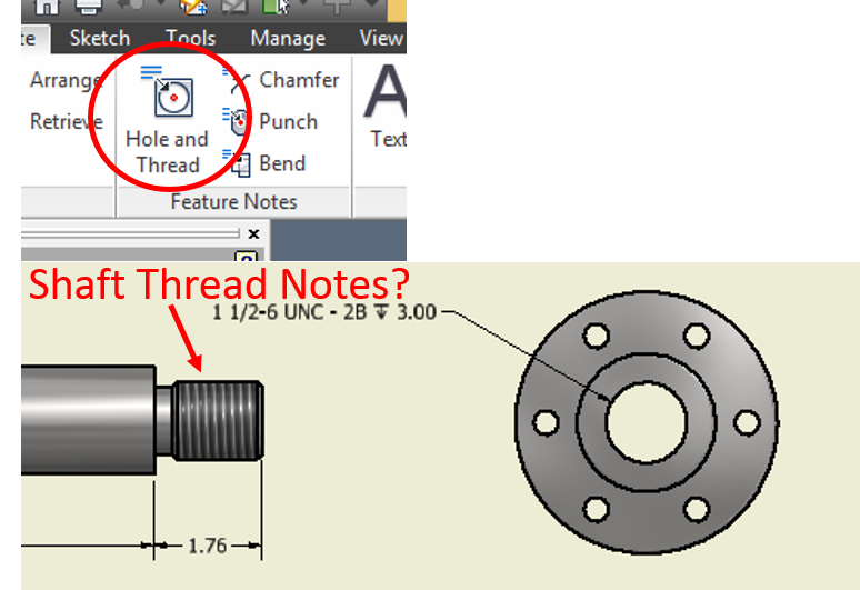 Rim drawing inventor autodesk car. Solved shaft thread notes