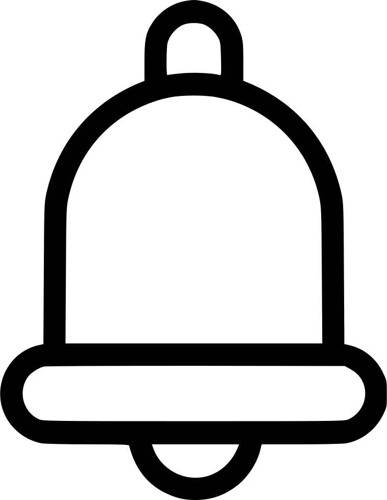 Ring bell png. Svg icon free download