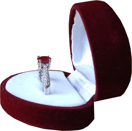 Ring box png. In transparent image