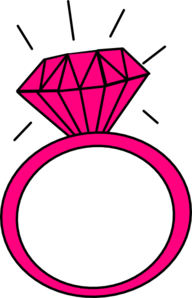 ring clipart dimond ring