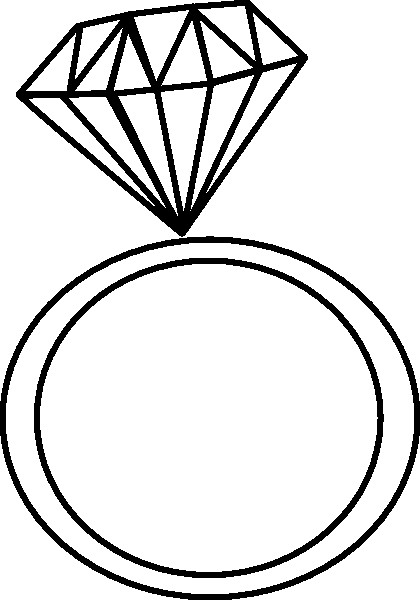 Ring clipart dimond ring. Engagement clip art rings
