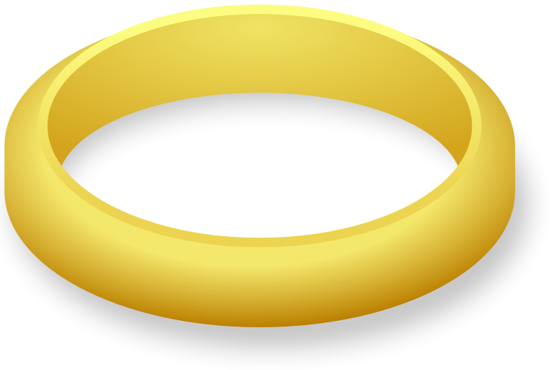 Ring clipart one ring. Wedding and engagement free