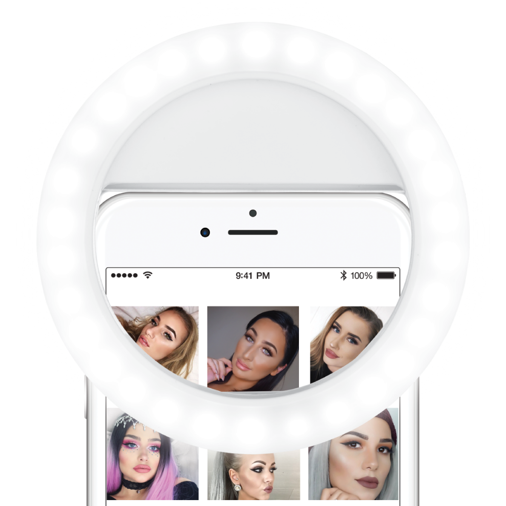 Ring light png. Selfie lumipop trendy lighting