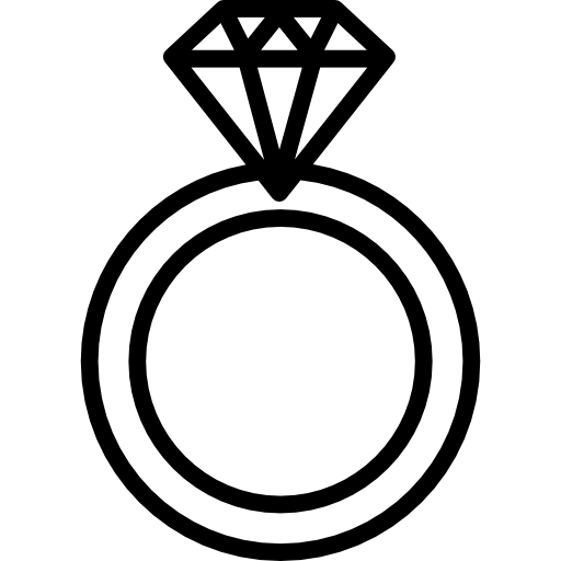 Ring silhouette png. Collection of wedding