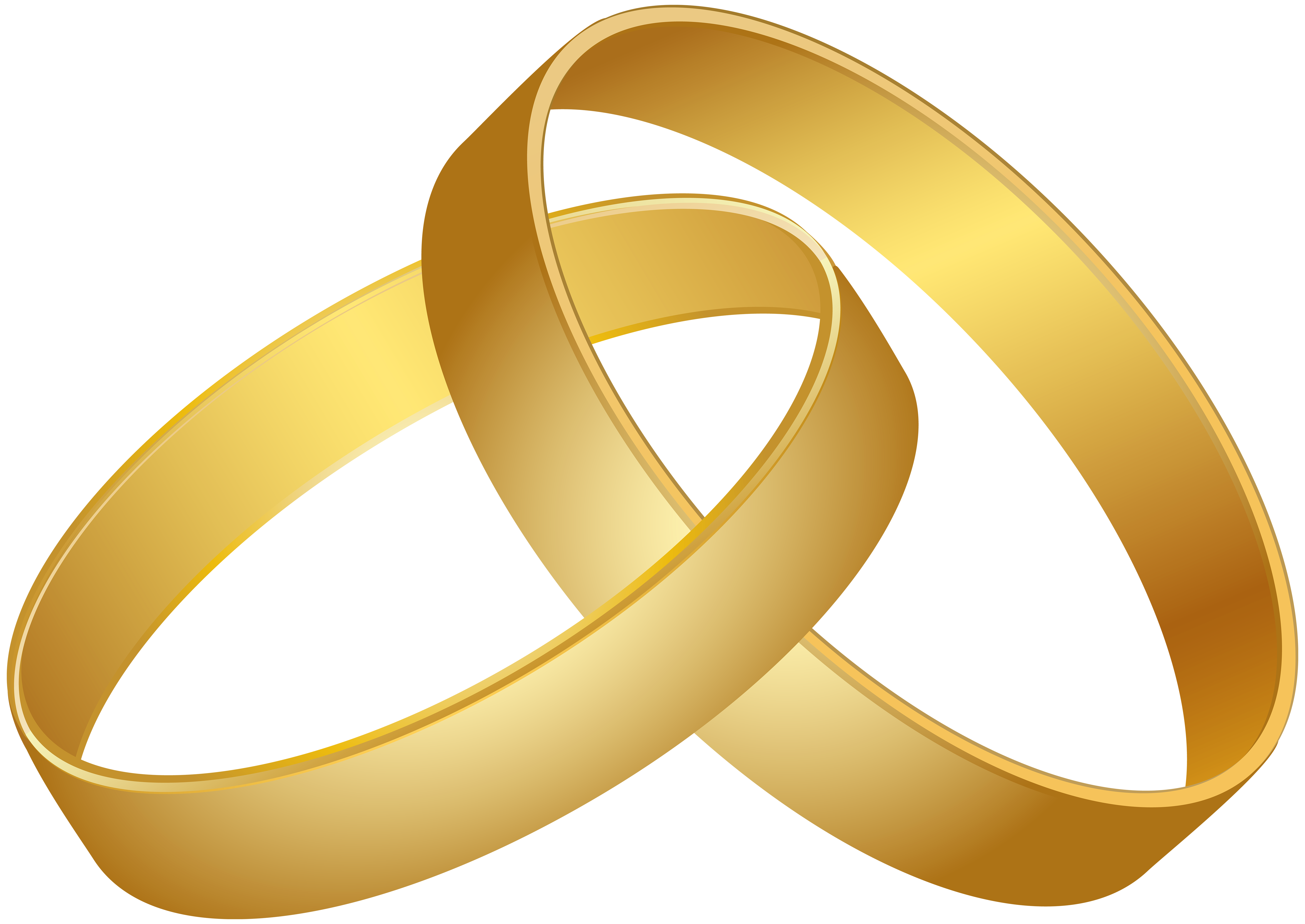 Wedding gold png clip. Rings clipart clipart freeuse