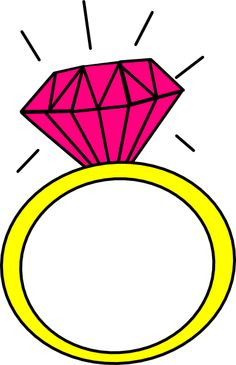 Rings clipart cartoon. Engagement ring clip art