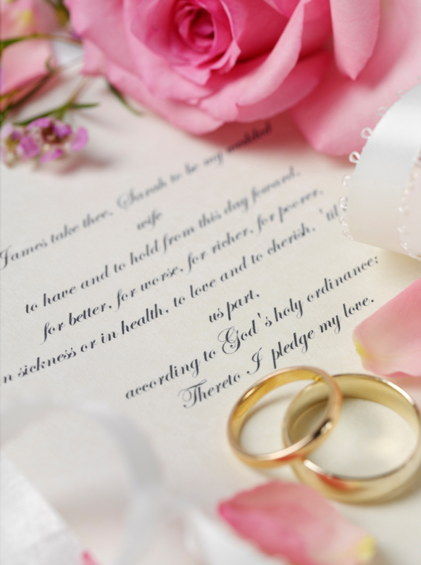 Rings clipart civil wedding. Vows