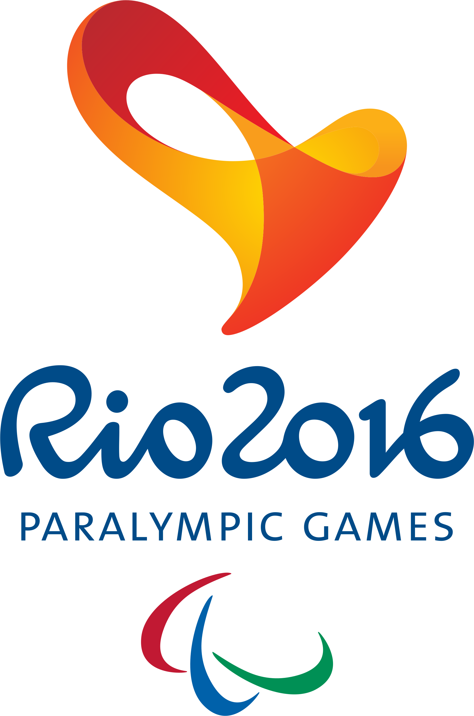 Image paralympic games svg. Rio 2016 logo png graphic black and white stock